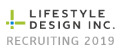 Lifestyle design Recruit 2019